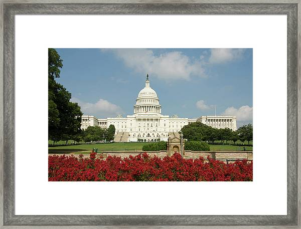 Washington Dc, Usa Framed Print by Lee Foster