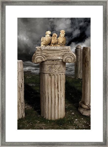 42. Akropolis Burmahs Framed Print