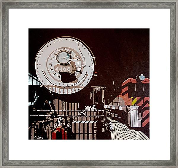 4466 Framed Print by Paul Guyer