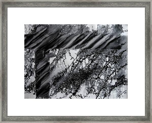 Fencing-3 Framed Print