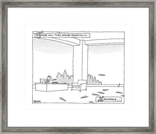 New Yorker June 29th, 2009 Framed Print