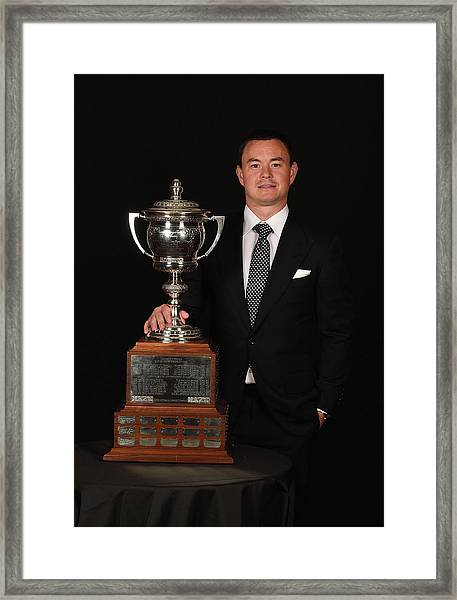 2015 Nhl Awards - Portraits Framed Print by Brian Babineau