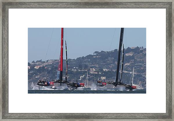America's Cup 34 New Prices Framed Print