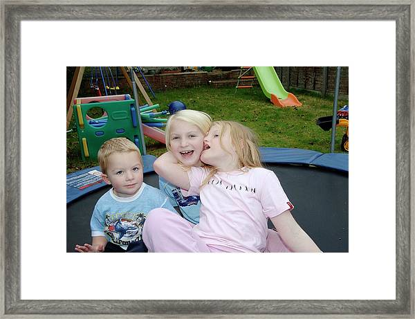 Angelman Syndrome Framed Print by Science Photo Library