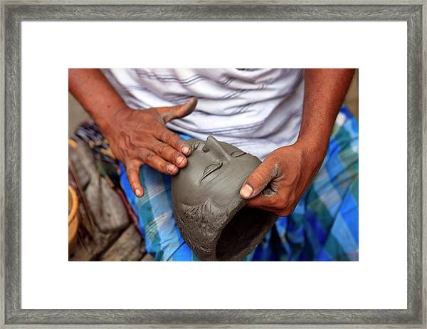 Asia, India, Calcutta Framed Print by Kymri Wilt