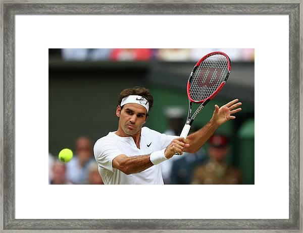 Day Thirteen The Championships - Framed Print