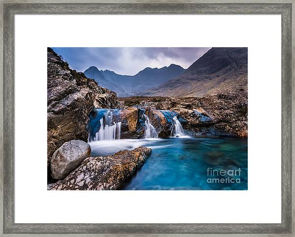 Fairy Pools Framed Print by Maciej Markiewicz