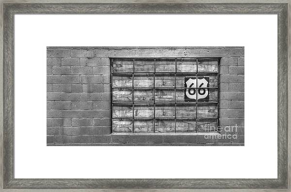 Route 66 Framed Print by Twenty Two North Photography