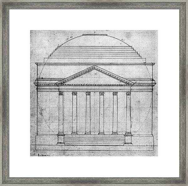 University Of Virginia Framed Print