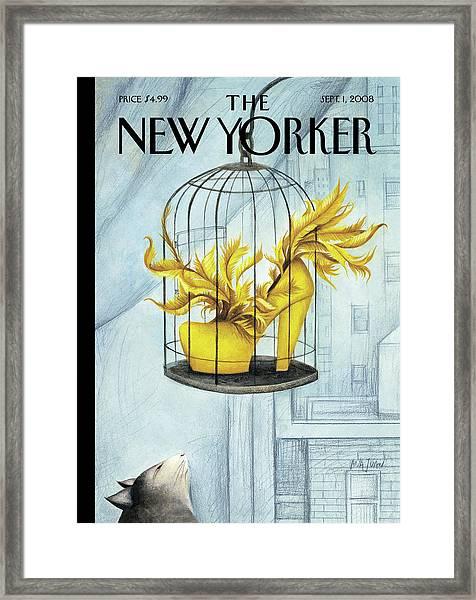 New Yorker September 1st, 2008 Framed Print