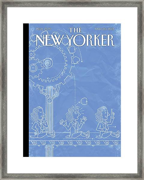 New Yorker May 20th, 2013 Framed Print