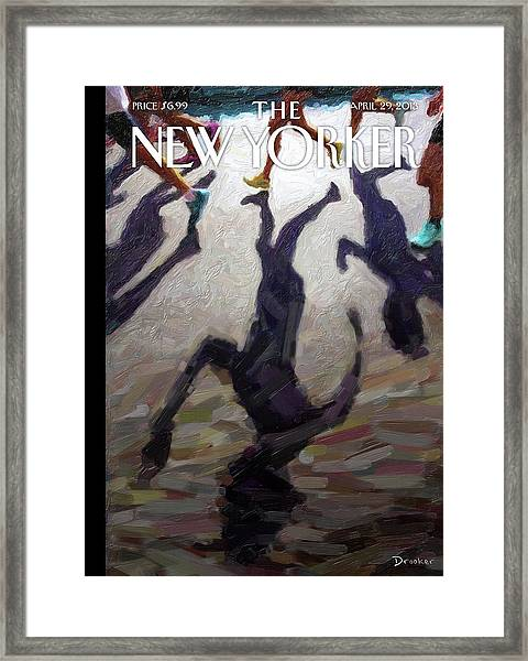 New Yorker April 29th, 2013 Framed Print by Eric Drooker