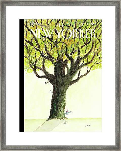 New Yorker October 15th, 2007 Framed Print