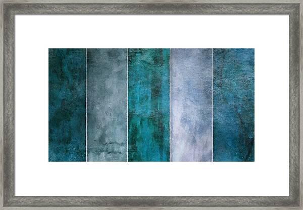 5 Water Framed Print
