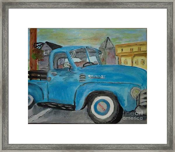 50 Chevy In Tannersville Framed Print