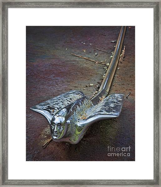 50s Cadillac Hood Ornament #2 Framed Print