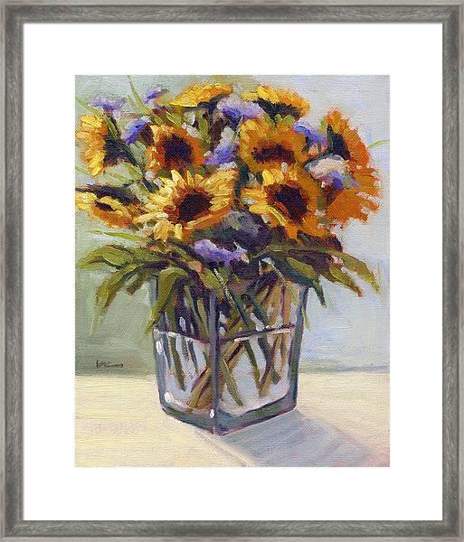 Summer Bouquet 4 Framed Print
