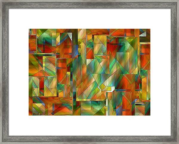 53 Doors Framed Print