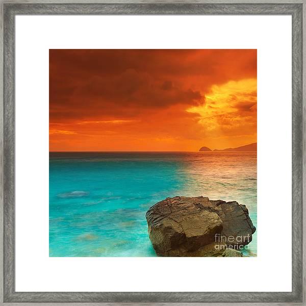 Sunrise Framed Print