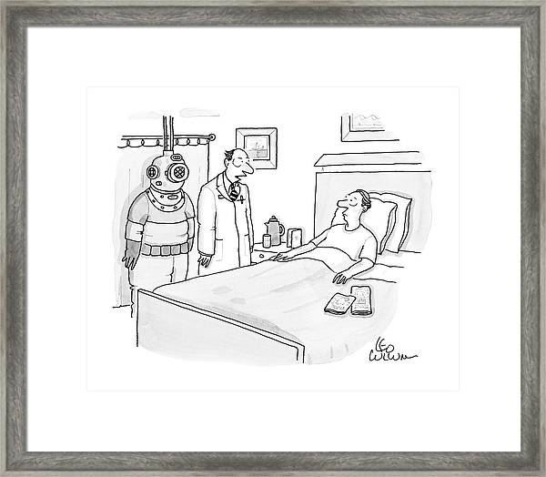 New Yorker January 14th, 2008 Framed Print
