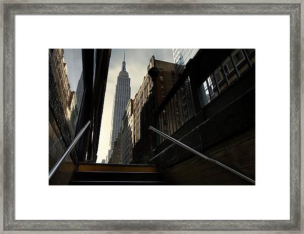 53th Avenue Framed Print by Sebastien Del Grosso