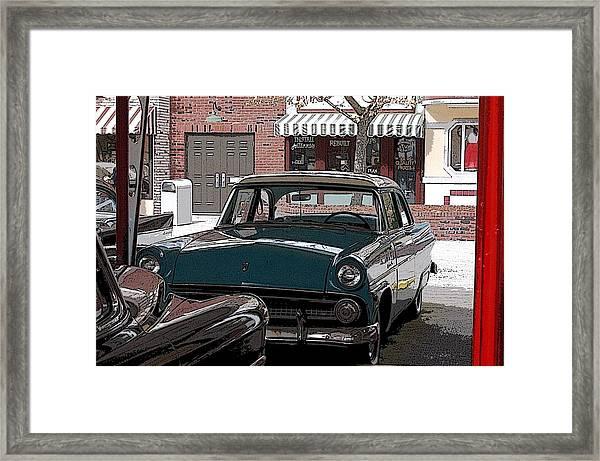 56 Ford Art01 Framed Print