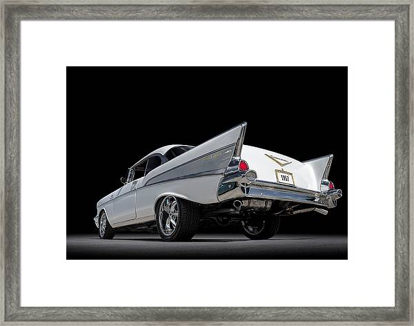 '57 Bel Air Framed Print