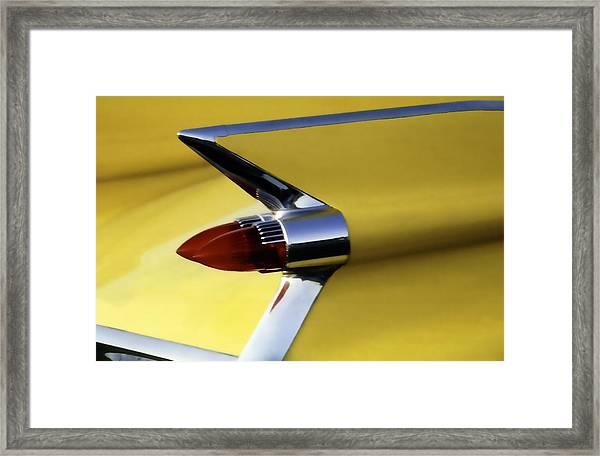 1959 Cadillac Coupe De Ville Framed Print