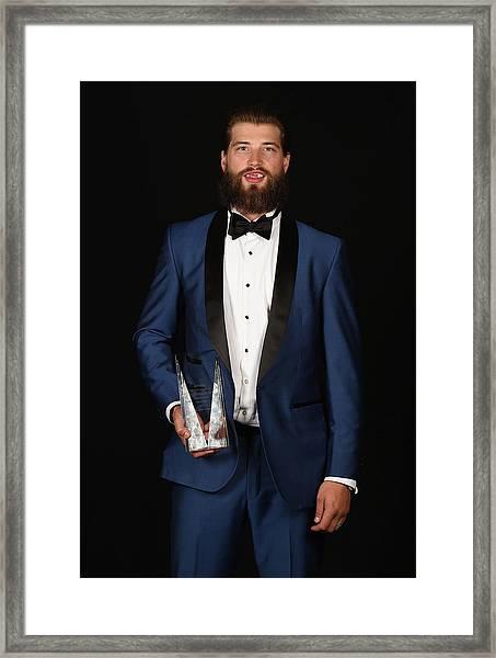 2015 Nhl Awards - Portraits Framed Print by Brian Babineau