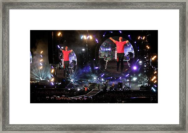 Coldplay - Sydney 2012 Framed Print