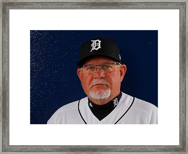 Detroit Tigers Photo Day Framed Print by Kevin C. Cox