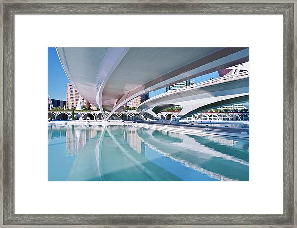 Europe, Spain, Valencia, City Of Arts Framed Print