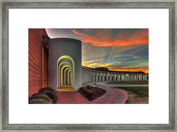 Ferguson Center For The Arts Framed Print