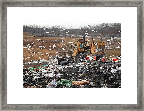 Landfill Site Framed Print