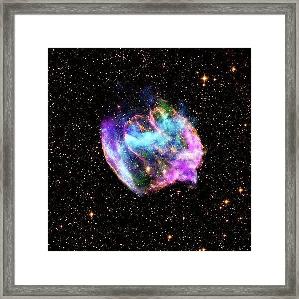 Supernova Remnant Framed Print