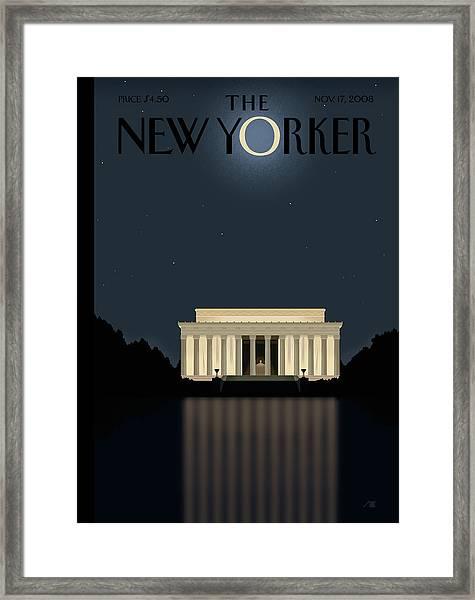New Yorker November 17th, 2008 Framed Print