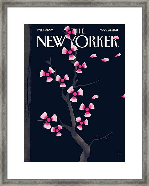New Yorker March 28th, 2011 Framed Print