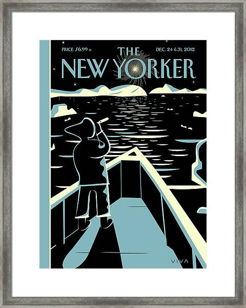 New Yorker December 24th, 2012 Framed Print