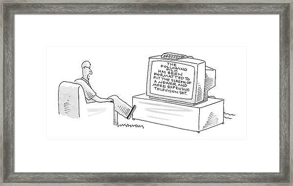 New Yorker December 5th, 2005 Framed Print