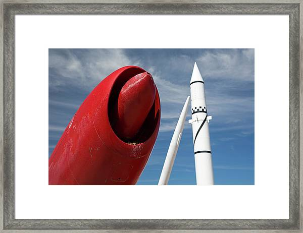 White Sands Missile Range Museum Framed Print by Jim West