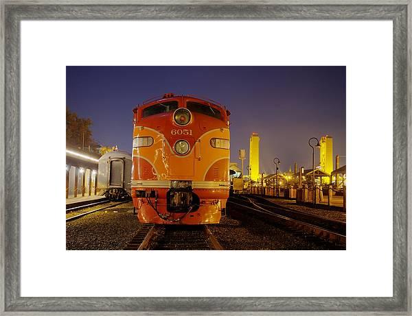 6051 Framed Print