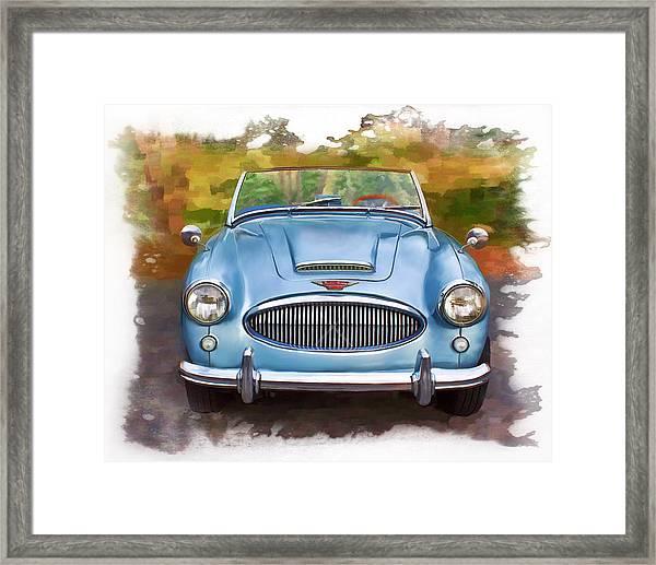 62 Austin Healy Framed Print