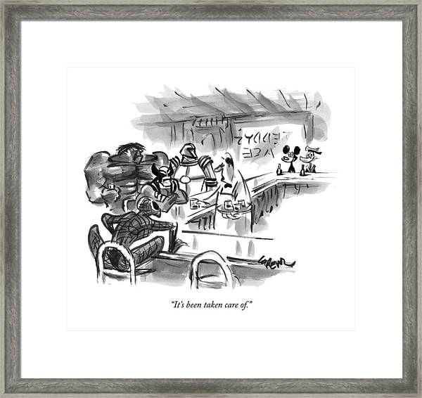 New Yorker September 14th, 2009 Framed Print