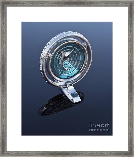 66 Marlin Hood Ornament Framed Print