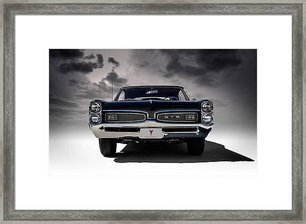 '67 Gto Framed Print