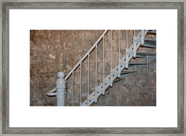 69 Steps Framed Print