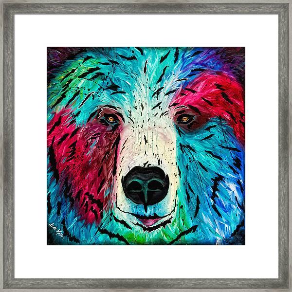 Bear Framed Print