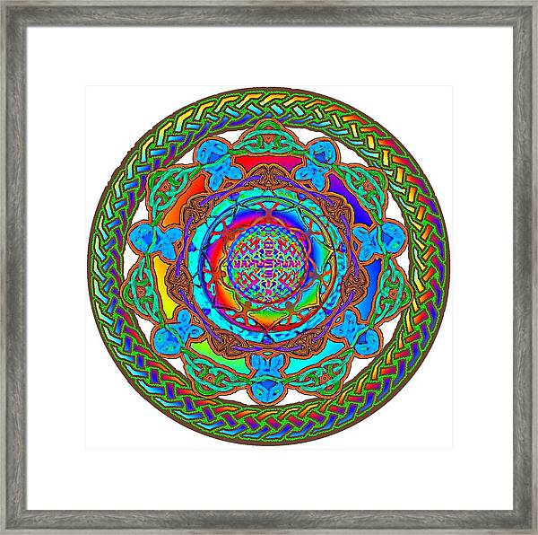 7 Fish Rainbow Yahushuah Messiah Framed Print