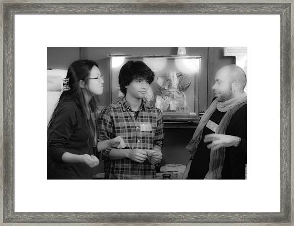 Kttp Framed Print by Ryan Routt