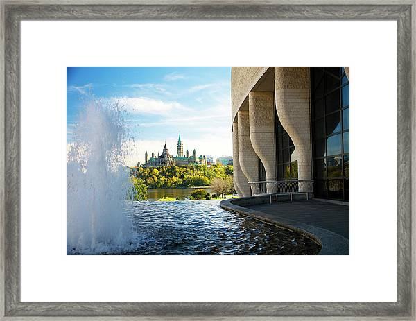 Parliament Framed Print